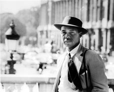 Photo of Ralph Ellison courtesy of California Newsreel